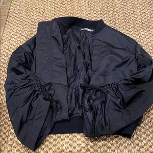 Vince Jackets & Coats - Vince black nylon bomber jacket